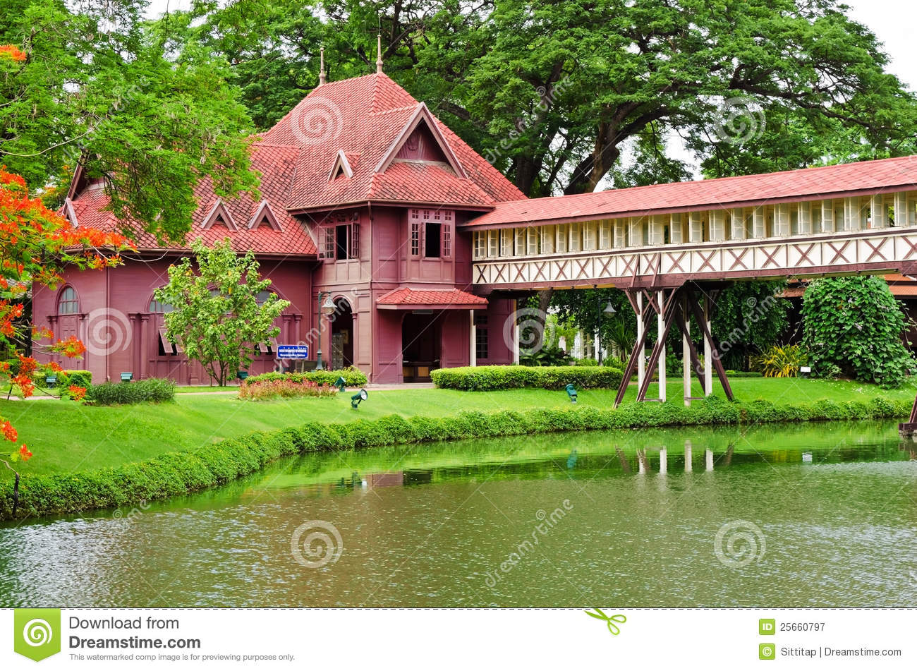 Sanam Chan Palace Royalty Free Stock Photography - Image ...