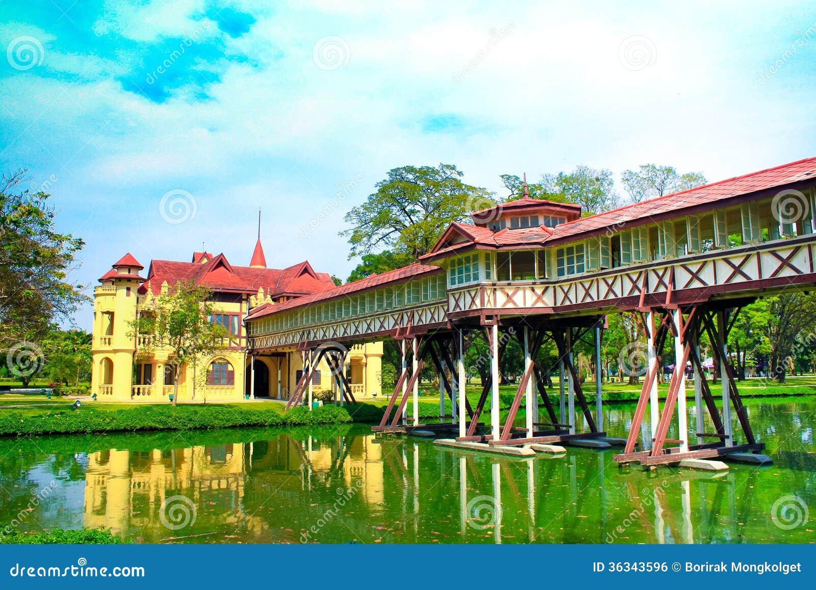 Sanam Chan Palace De La Thaïlande, Nakhon Pathom Image ...