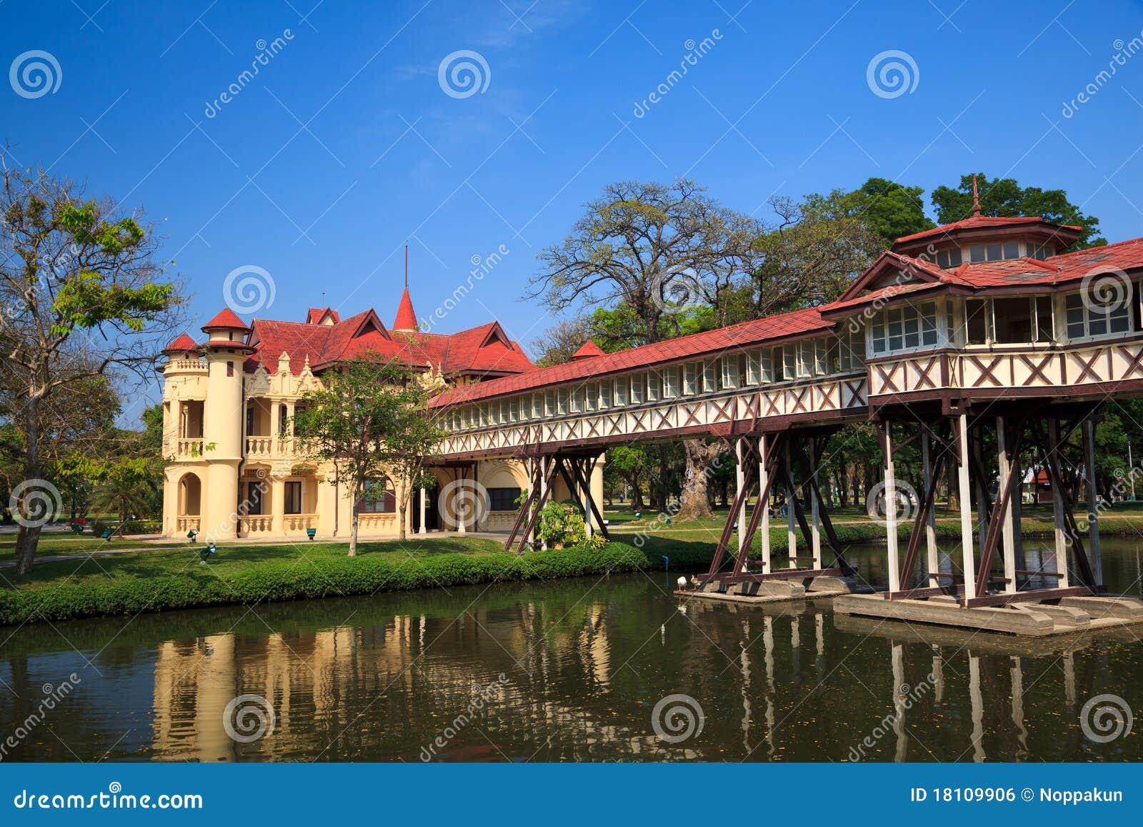 Sanam Chan Palace, Nakhon Pathom, Thailand Royalty Free ...
