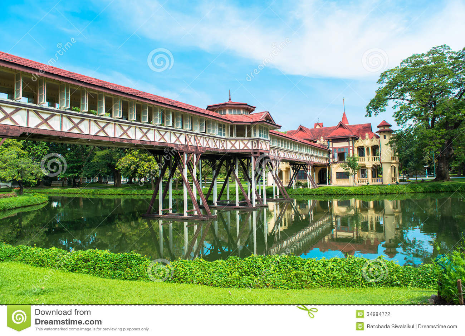 Sanam Chandra Palace, European Castle Style, Of King Rama ...