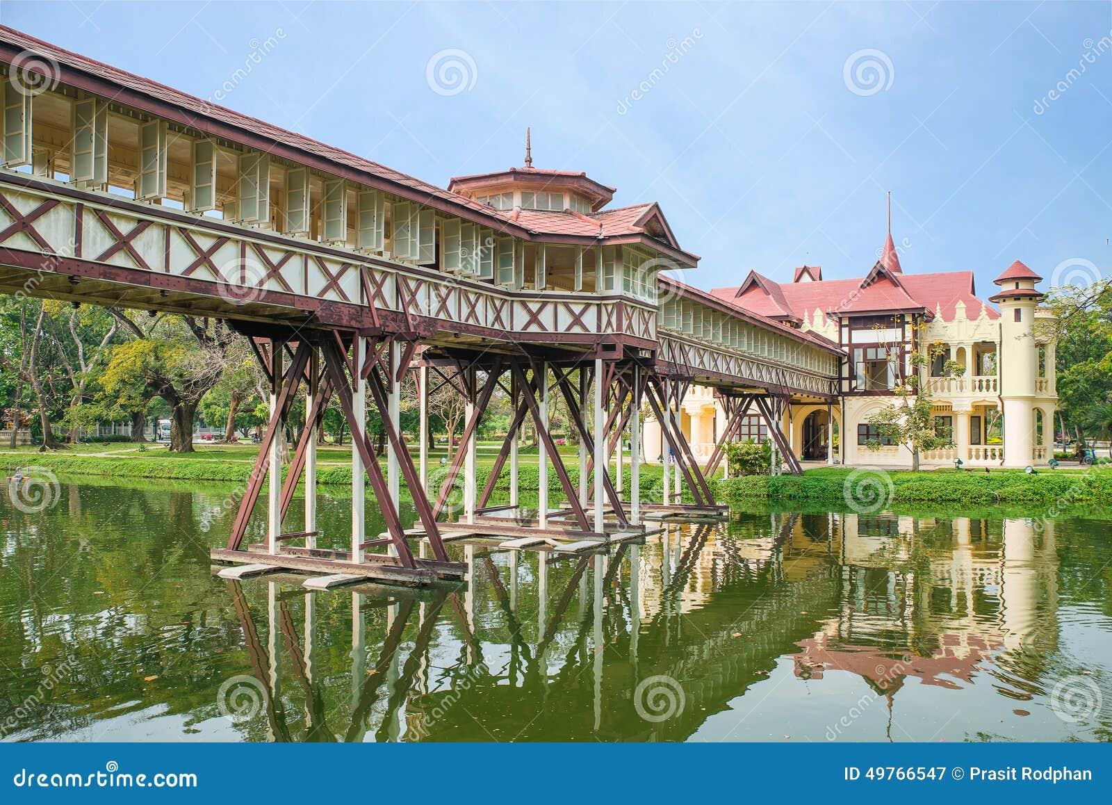 Sanam Chandra Palace,Nakhon Pathom, Thailand Stock Photo ...