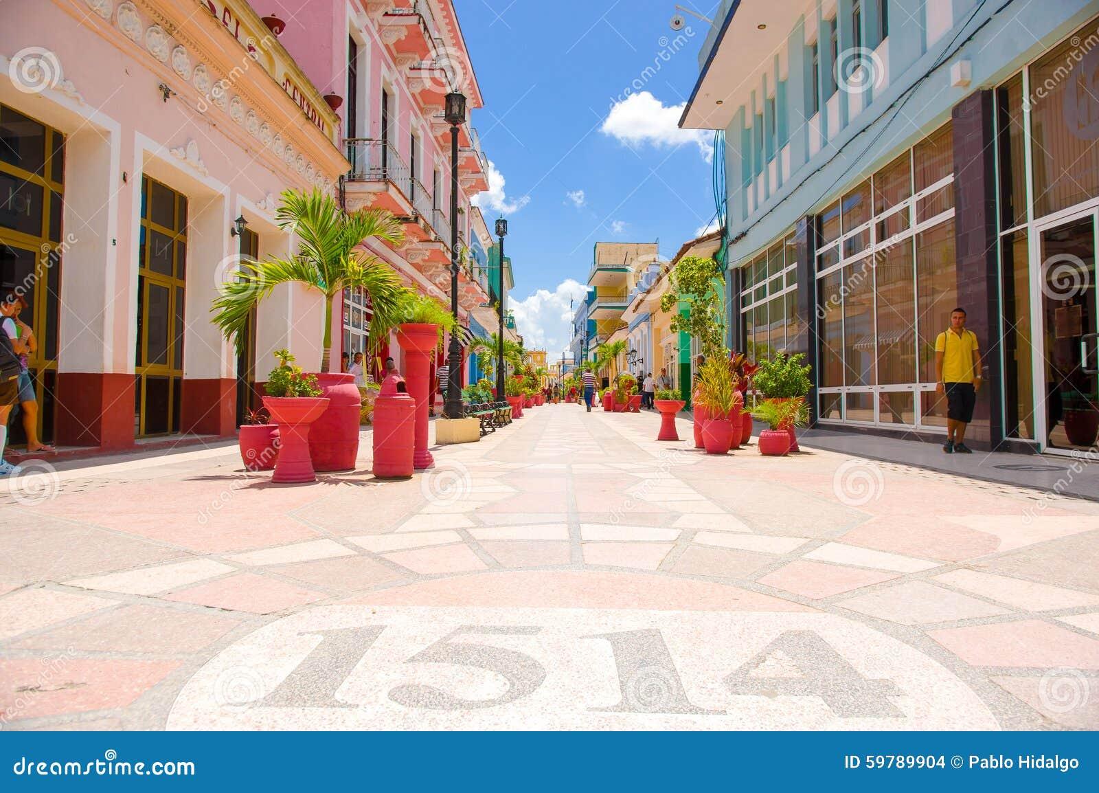SANCTI SPIRITUS, CUBA - SEPTEMBER 5, 2015: Latin