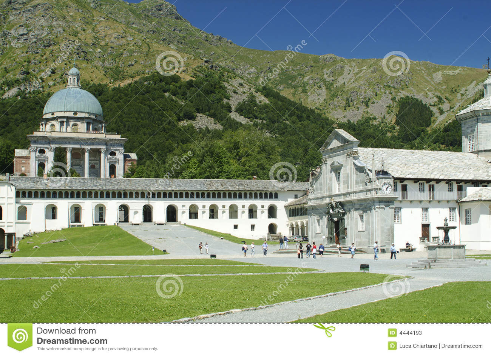 Biella Italy  City pictures : Sanctuary Of Oropa Biella Italy Stock Photos Image: 4444193