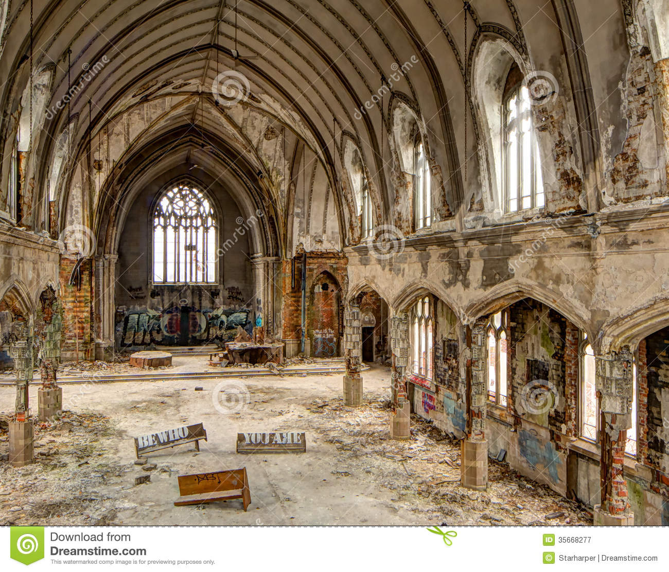 Sanctuary Ruins Royalty Free Stock Photography