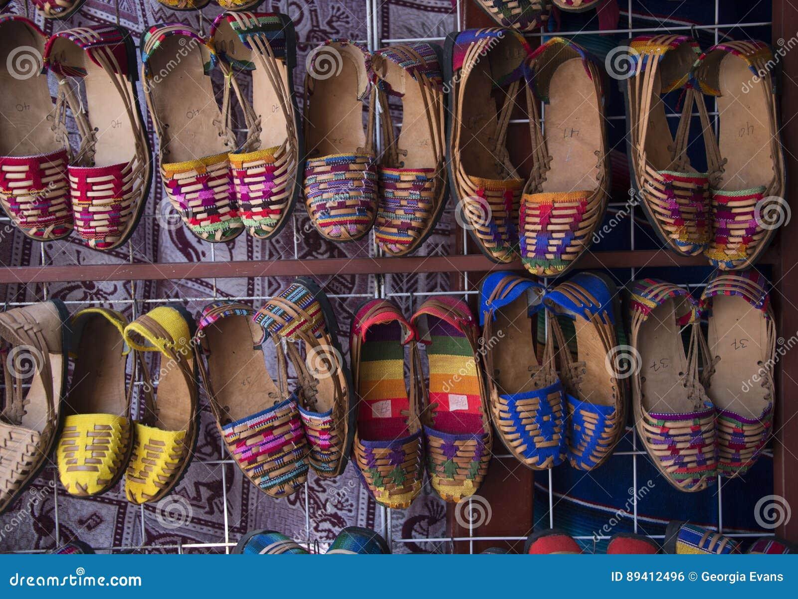Sandálias Handcrafted do couro de Huarache