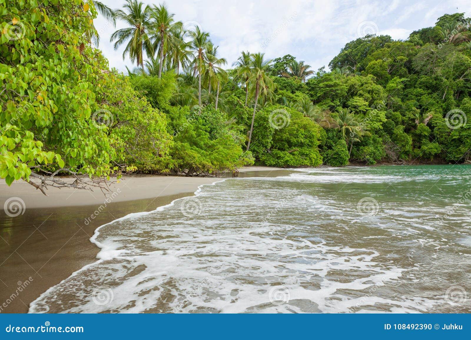 Beach Manuel Antonio Costa Rica