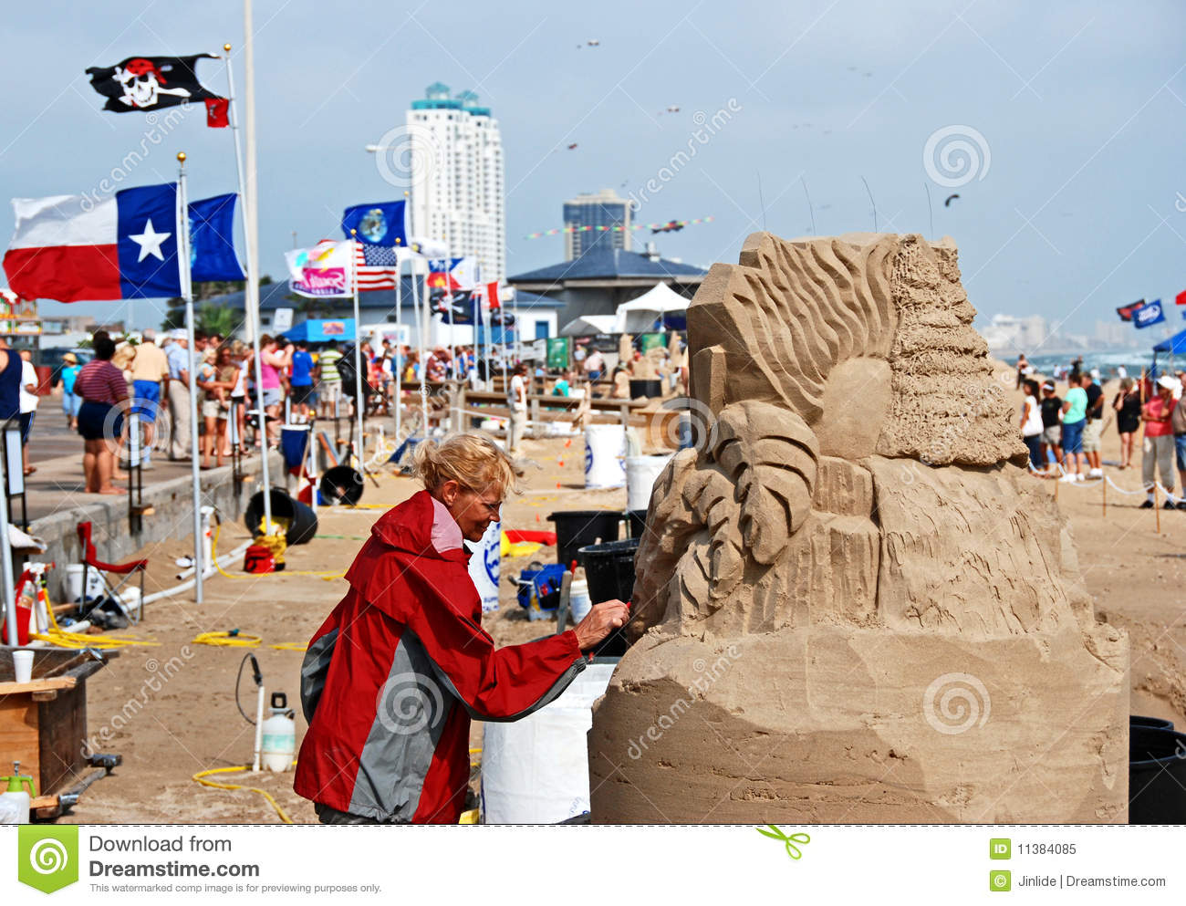 South Padre Island Sand Castle Contest