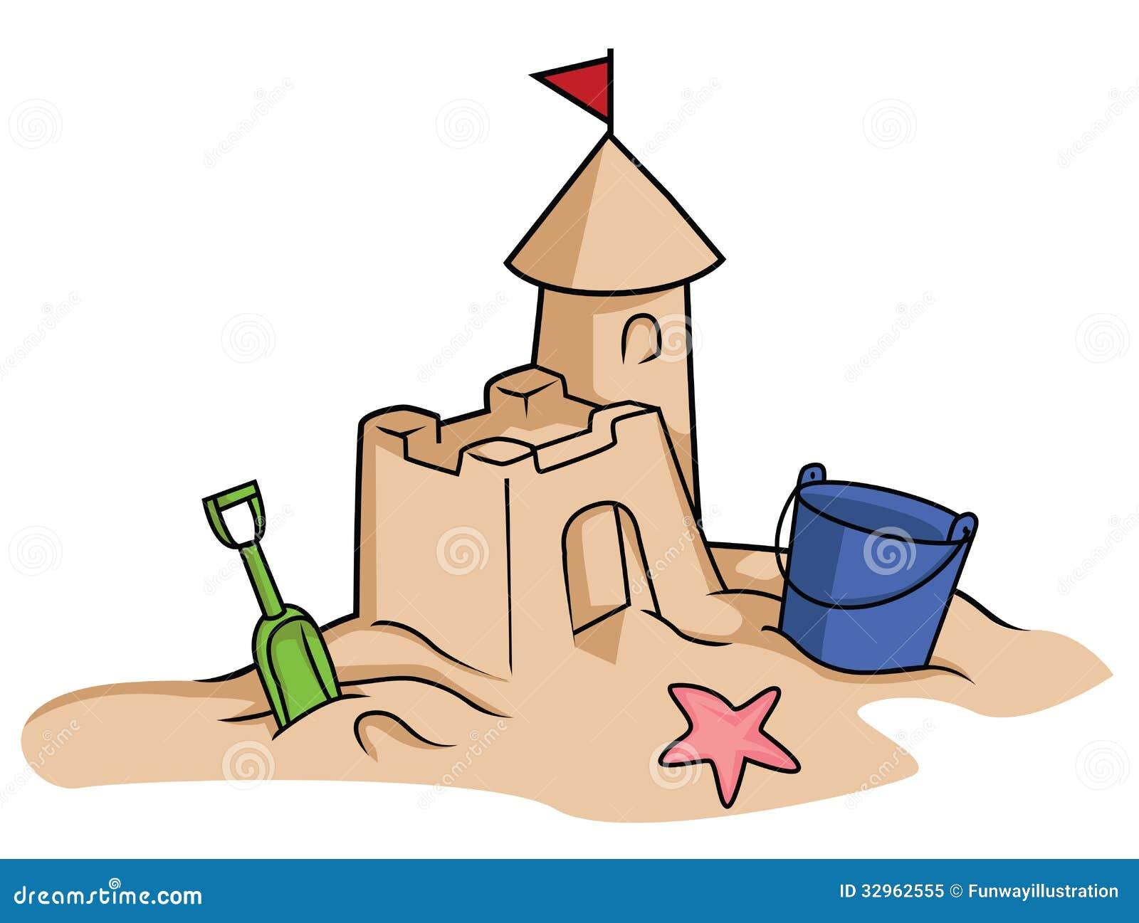 Sand Castle Stock Illustration Illustration Of Season 32962555
