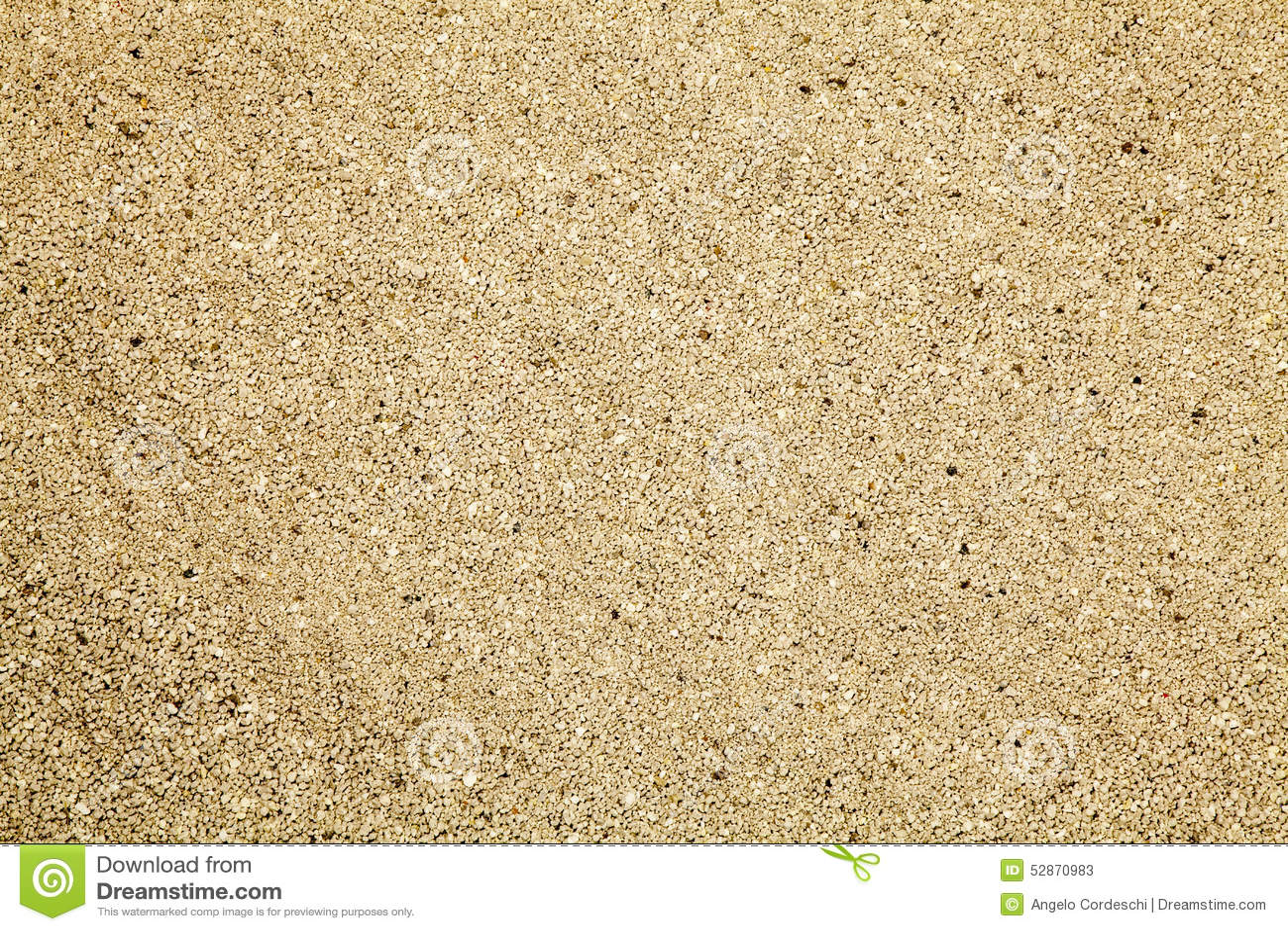 Sand for cat litter