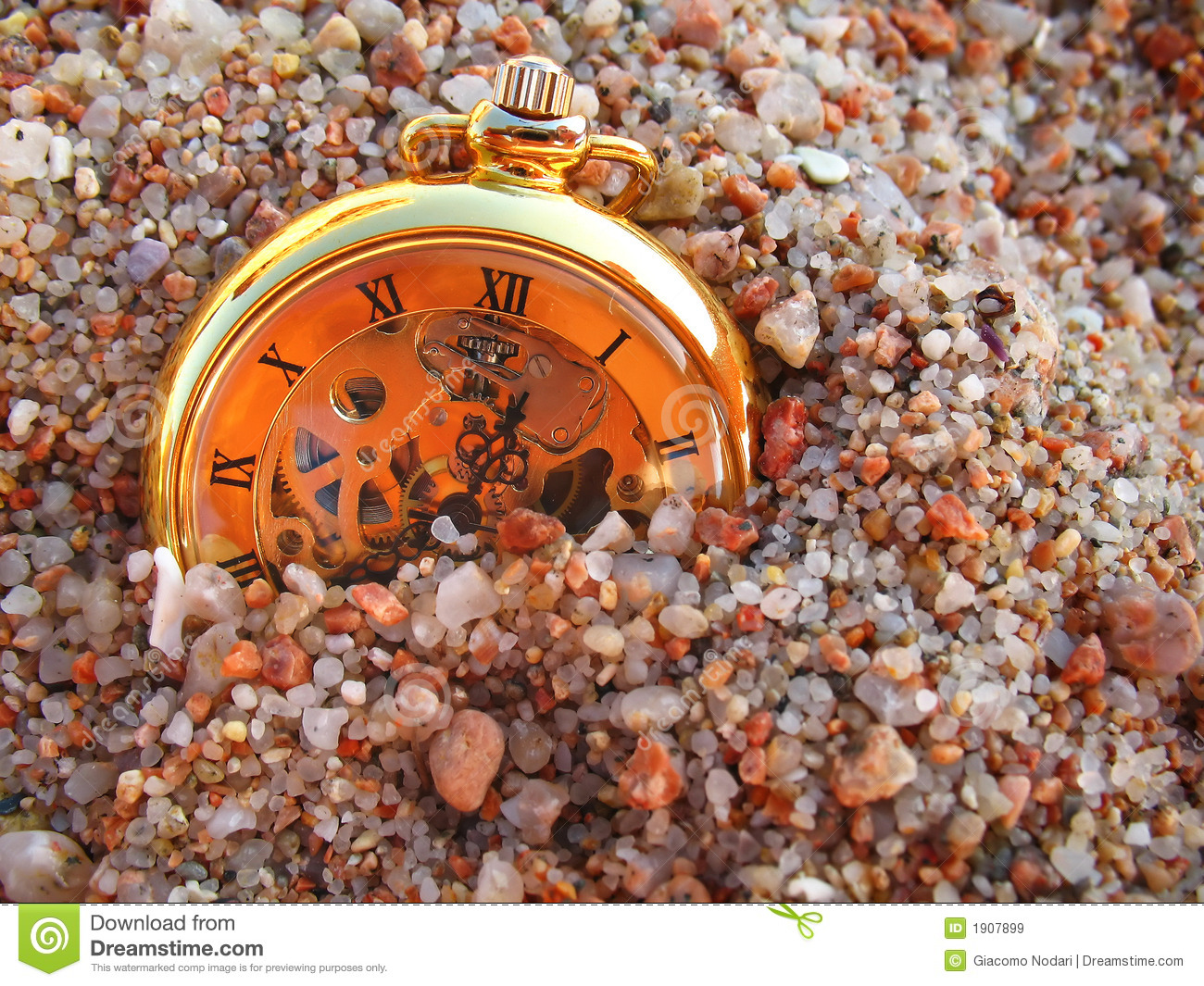 Sand and clock