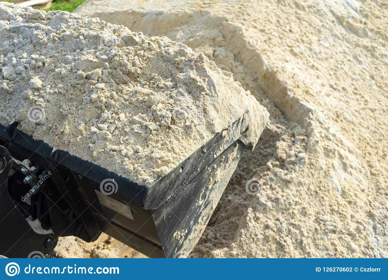 What sand is needed for construction work 48