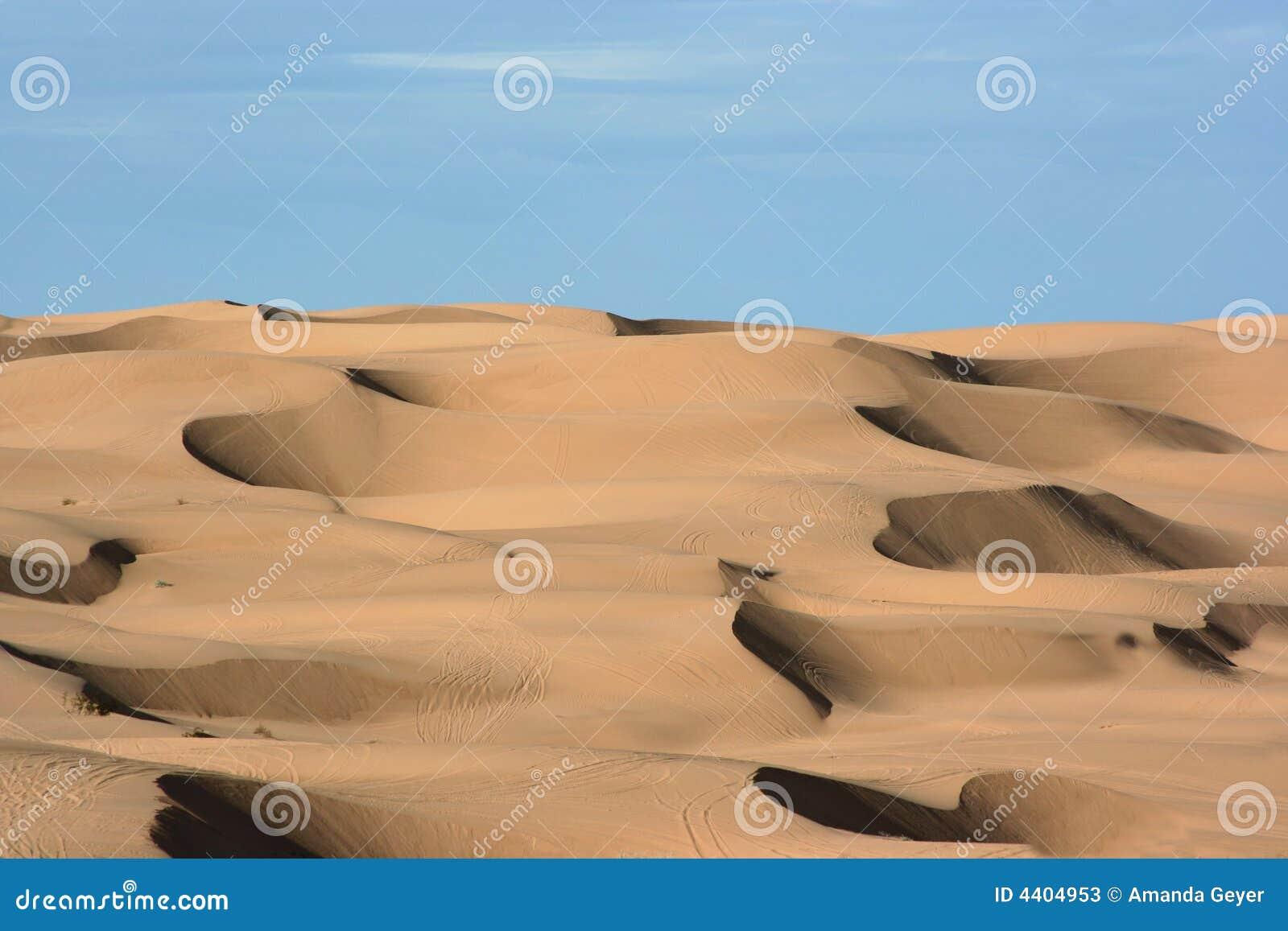 Sand dunes stock image. Image of yuma, empty, sunny, warming   20