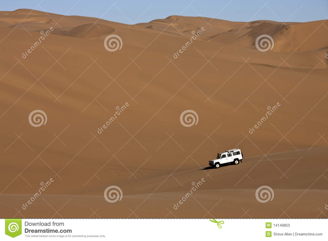 how to drive up a sand dune