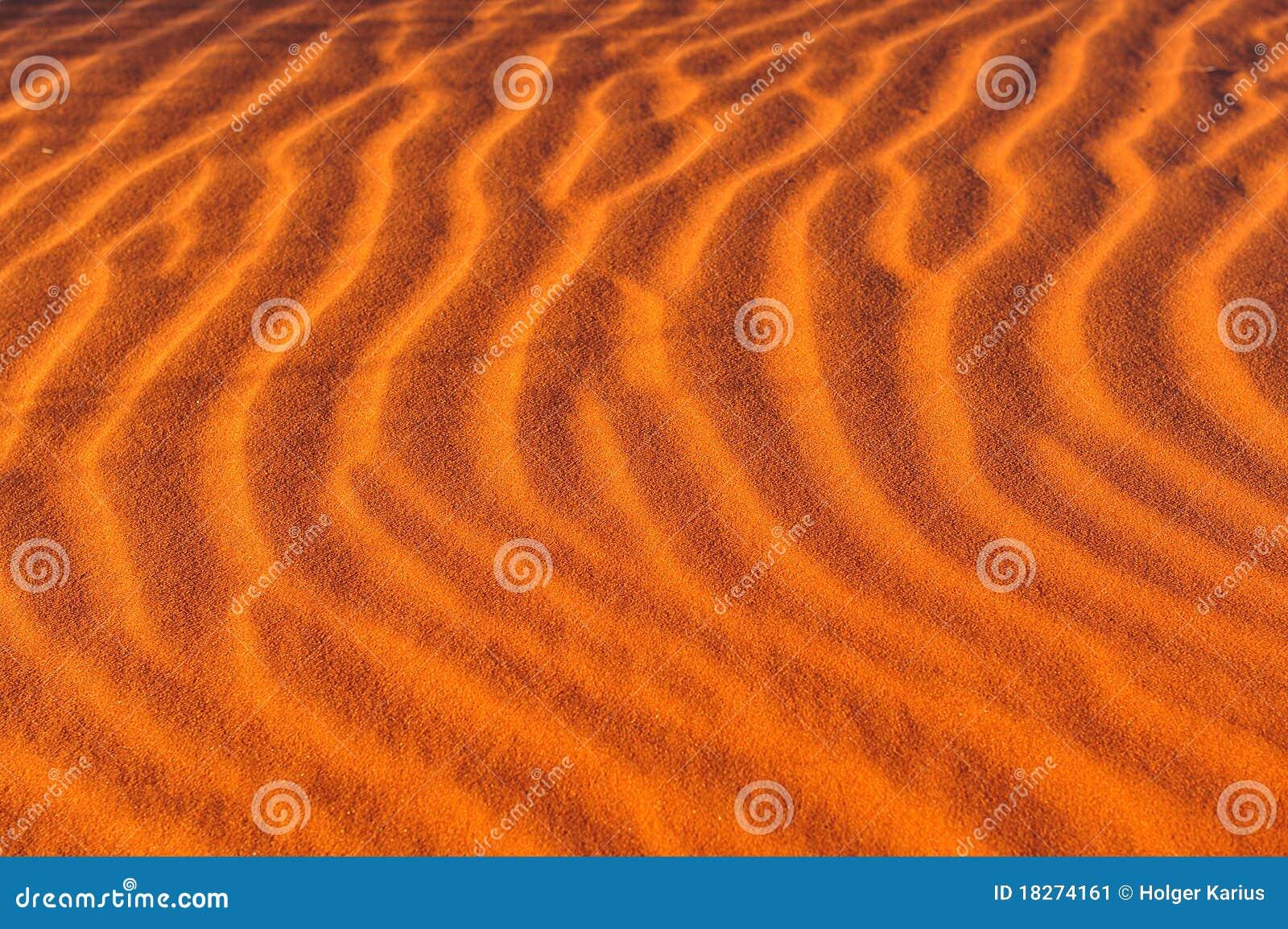 Sand för modellkrusningar