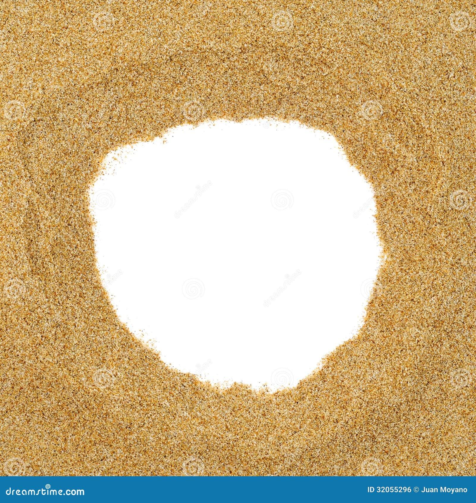sand frame