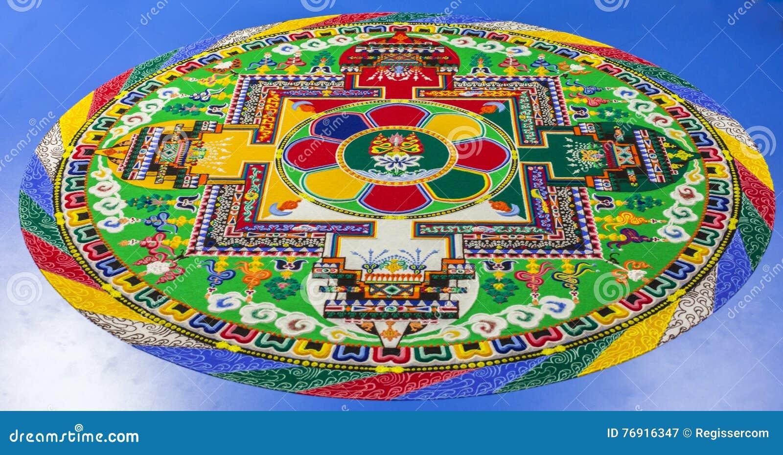 Sand mandala stock image image of sand mantra drawing 76916347 royalty free stock photo biocorpaavc Images