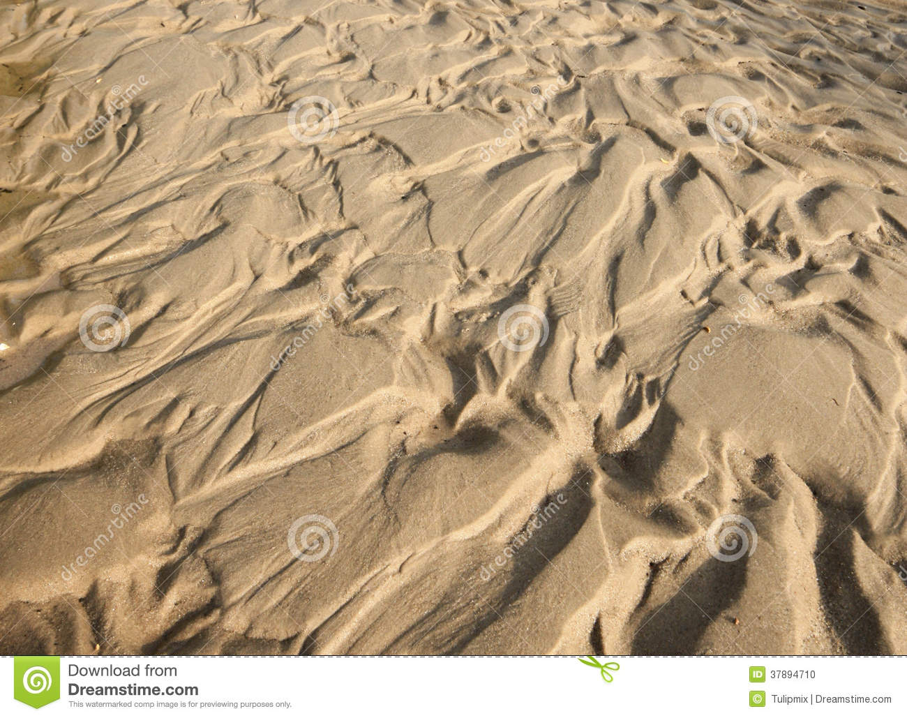 Sand and mud pattern