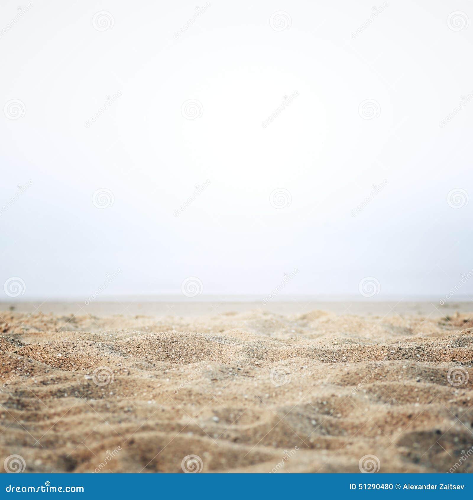 Sand på kusten