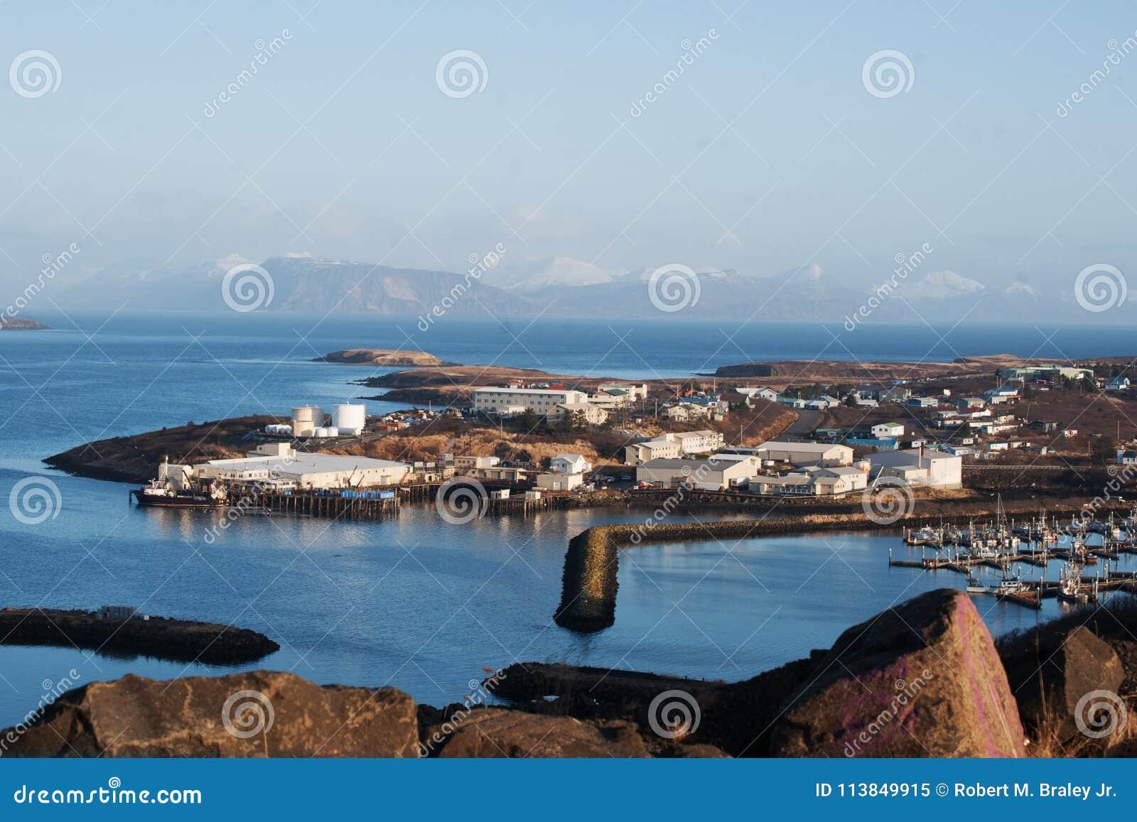 Download Sand Point Alaska stock image. Image of akstp2018012300001 - 113849915