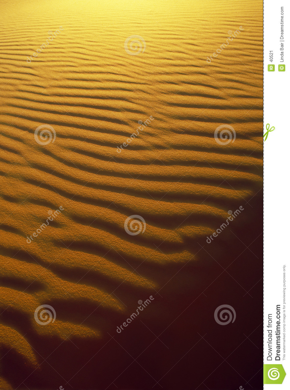 Sand Ripple and Shadow Patterns