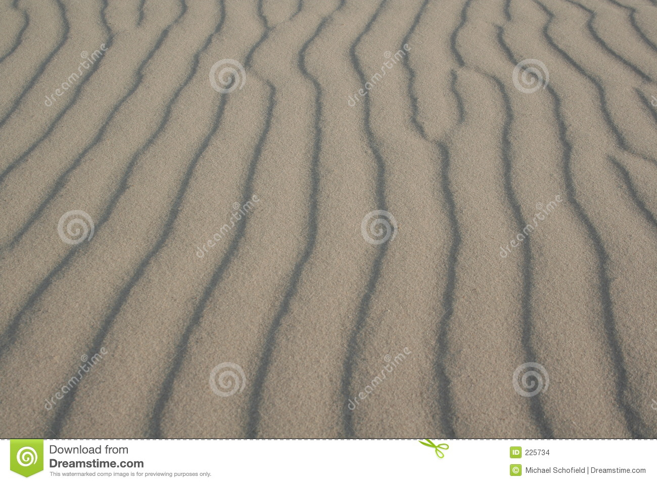 Download Sand ripples stock photo. Image of shadow, denmark, grain - 225734