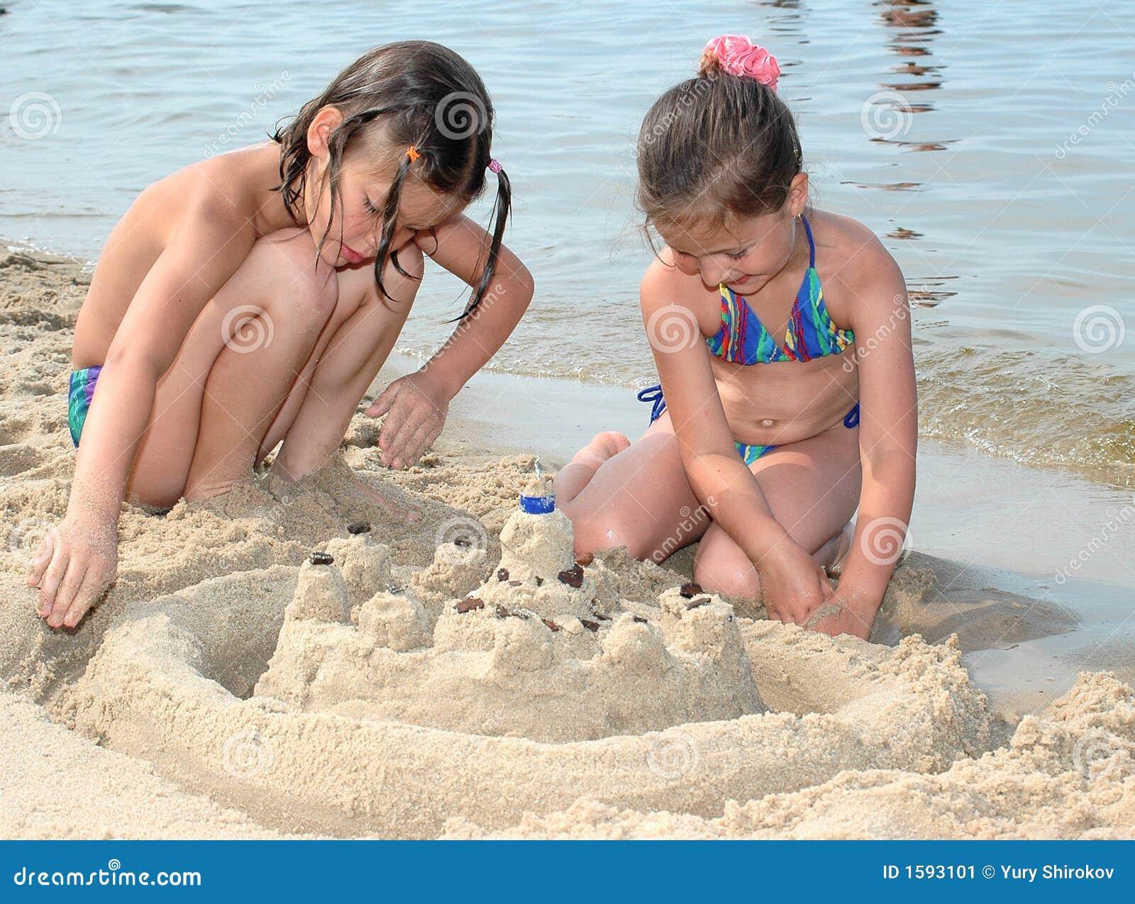Sand-Schloss