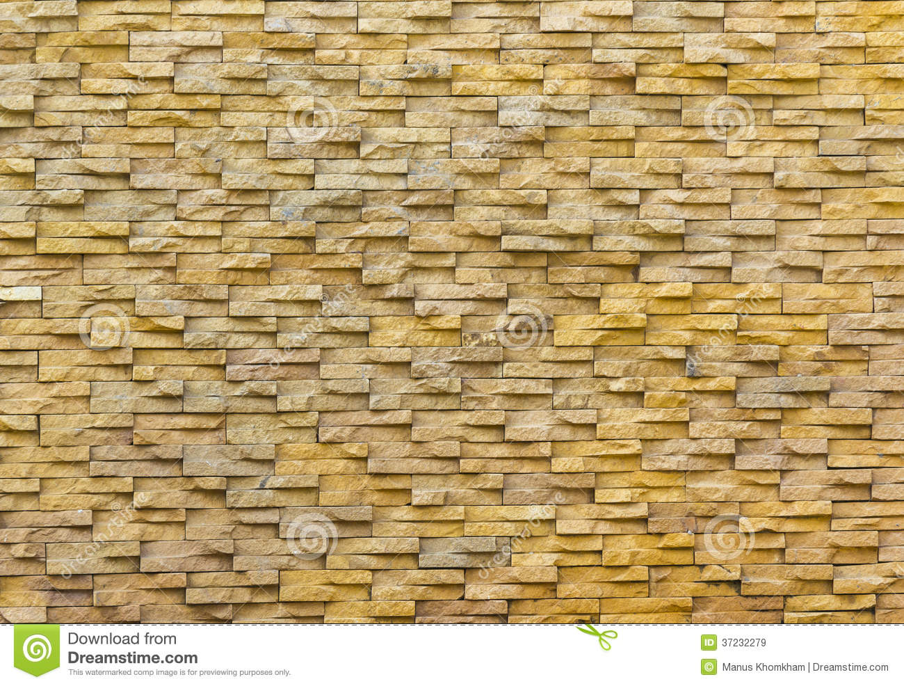 Sand stone brick wall stock image. Image of material - 37232279