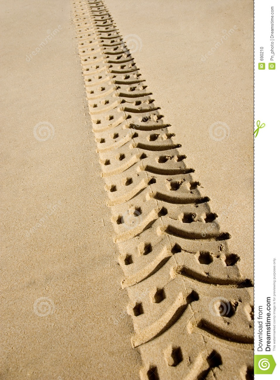 Download Sand Track Adventure 01 stock photo. Image of pattern, endurance - 690210