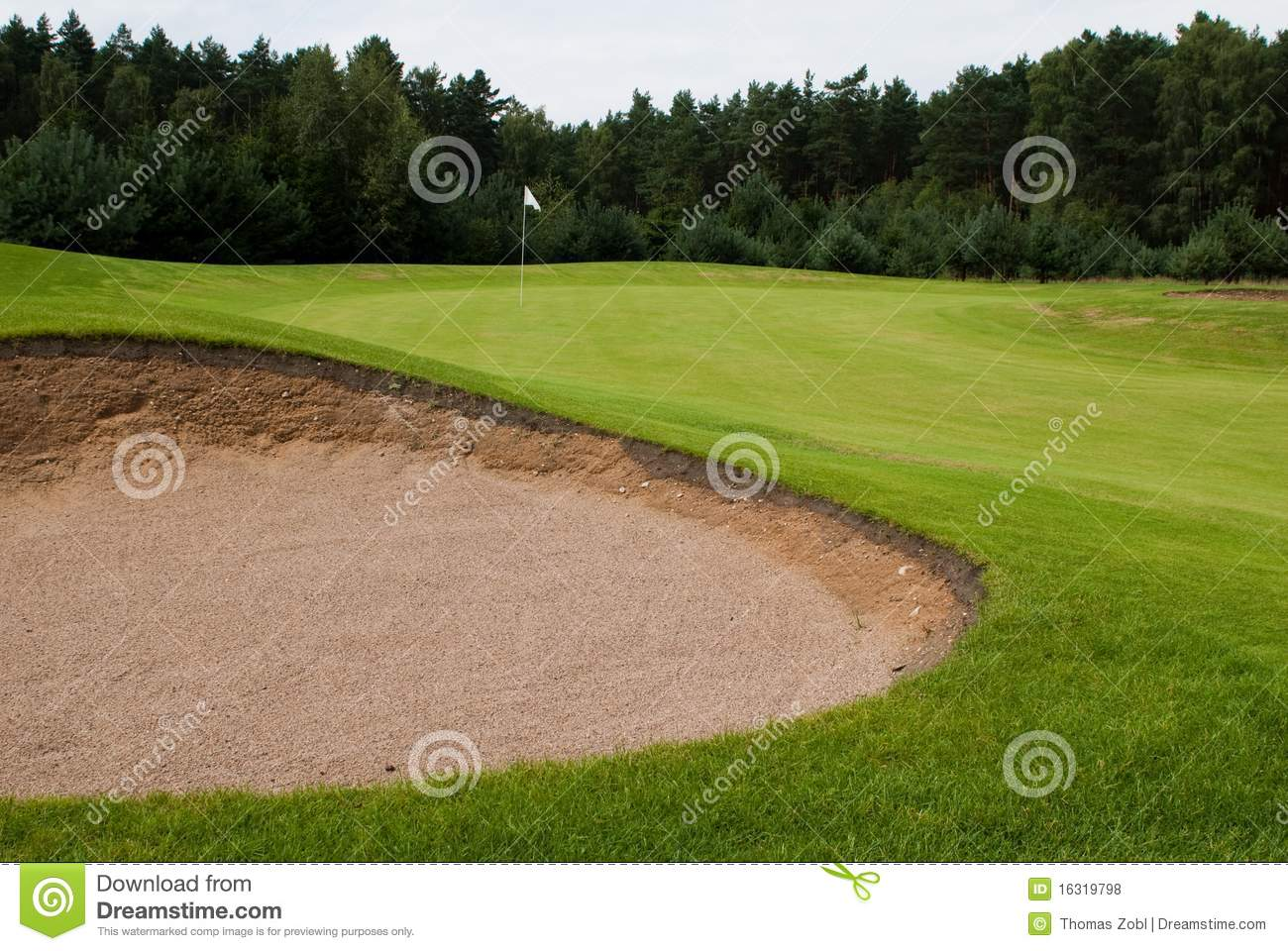 Sand trap royalty free stock photos image 16319798 - Wand trap ...