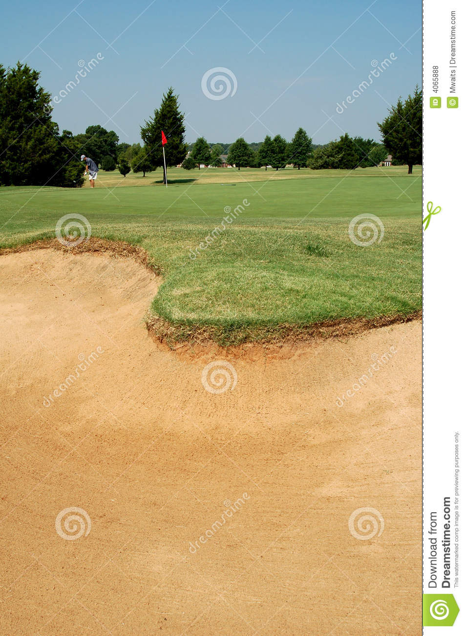 Sand trap royalty free stock photos image 4065888 - Wand trap ...