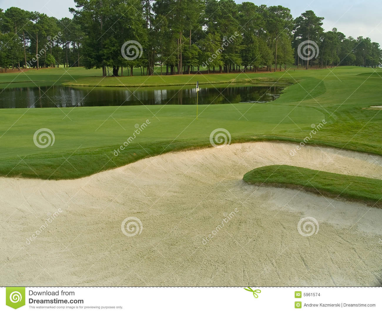 Sand trap view stock images image 5961574 - Wand trap ...