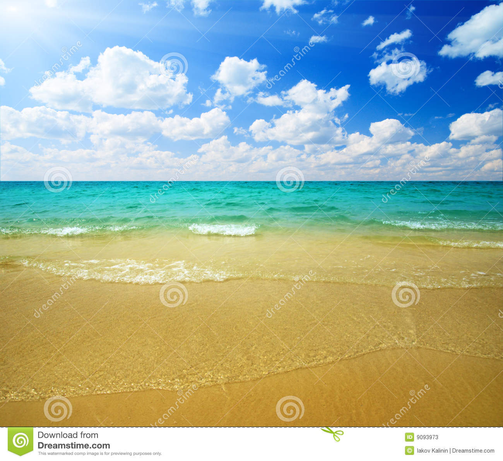 Sand und Ozean