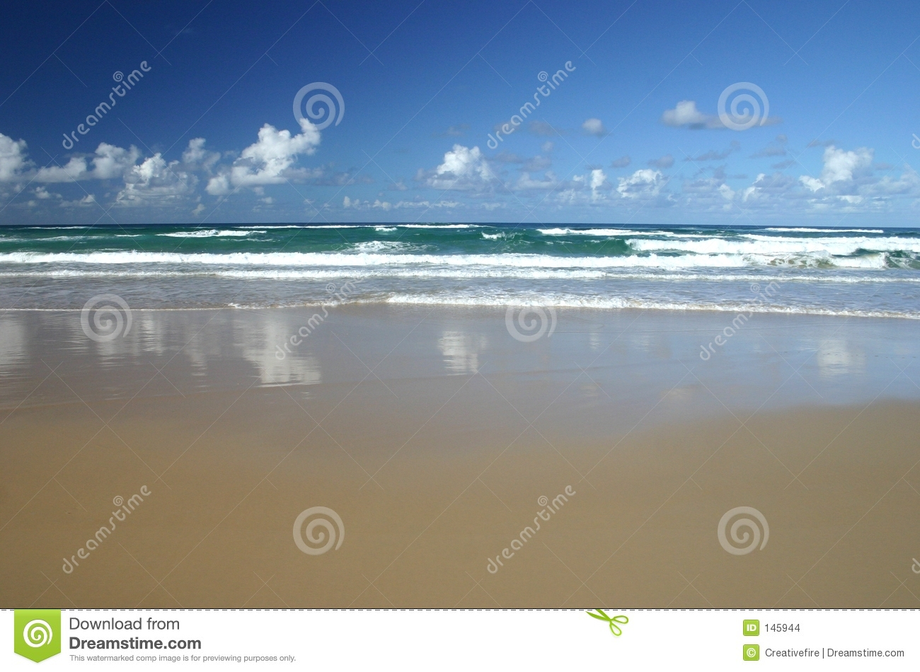 Sand Waves and Surf
