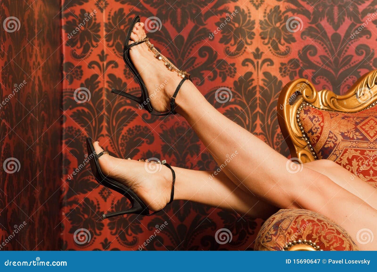 Sandals för stolsfotkvinnlig