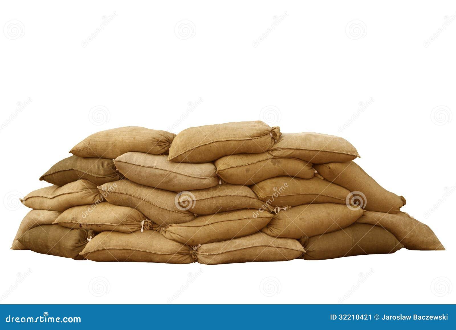 Military Sandbags Clip Art
