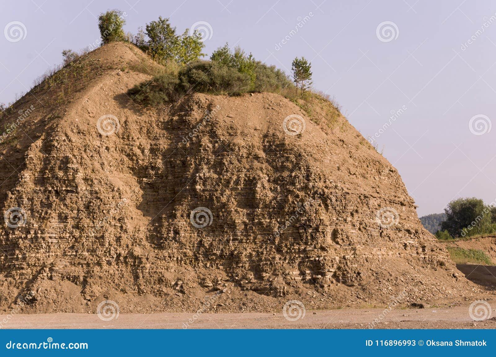Sandberg Ural landskap medf8ort öknen like