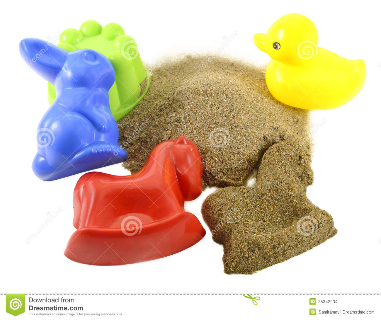 Toys For Sandbox : Sandbox toys stock images image