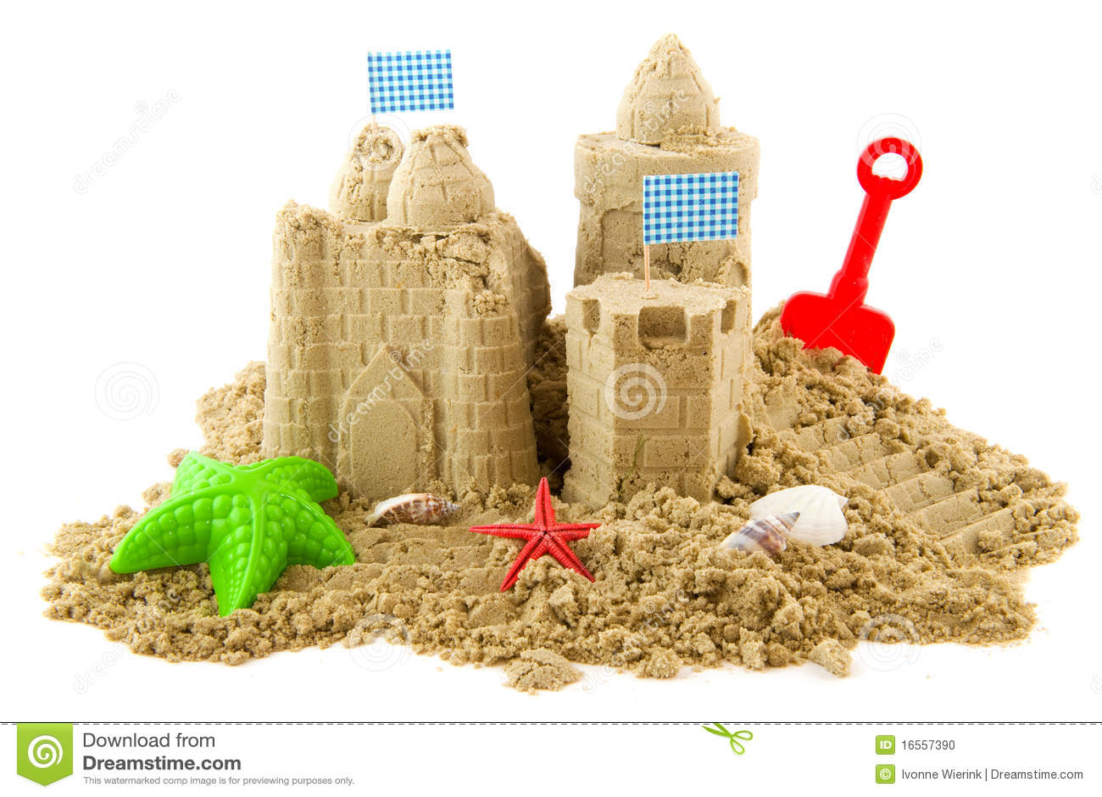 Поделки замки из песка