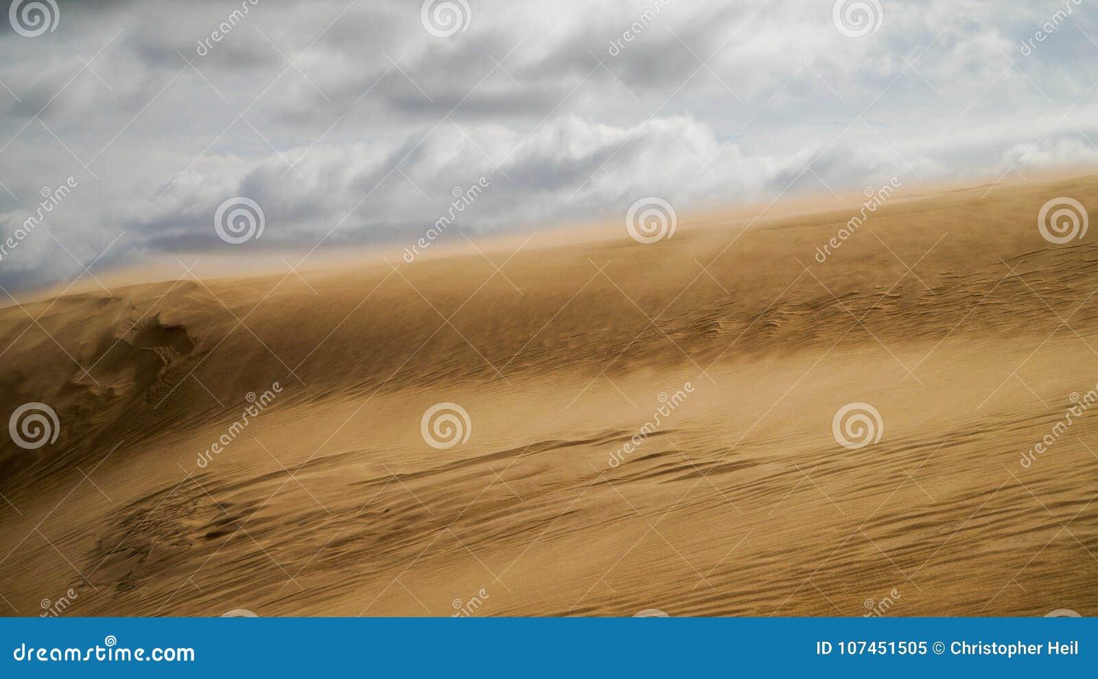 Sanddüne in Uruguay
