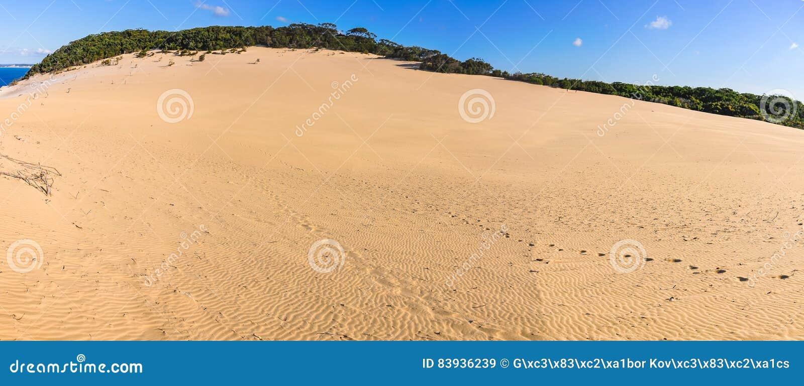 Sanddyn i regnbågestranden, Australien
