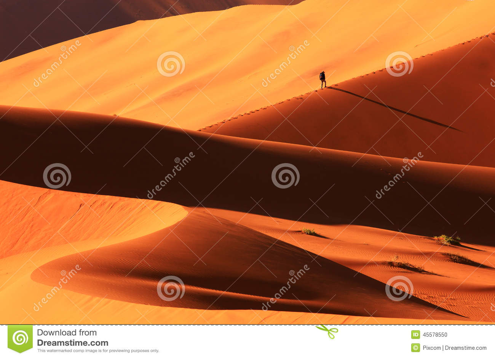 Sanddyn i Sossusvlei