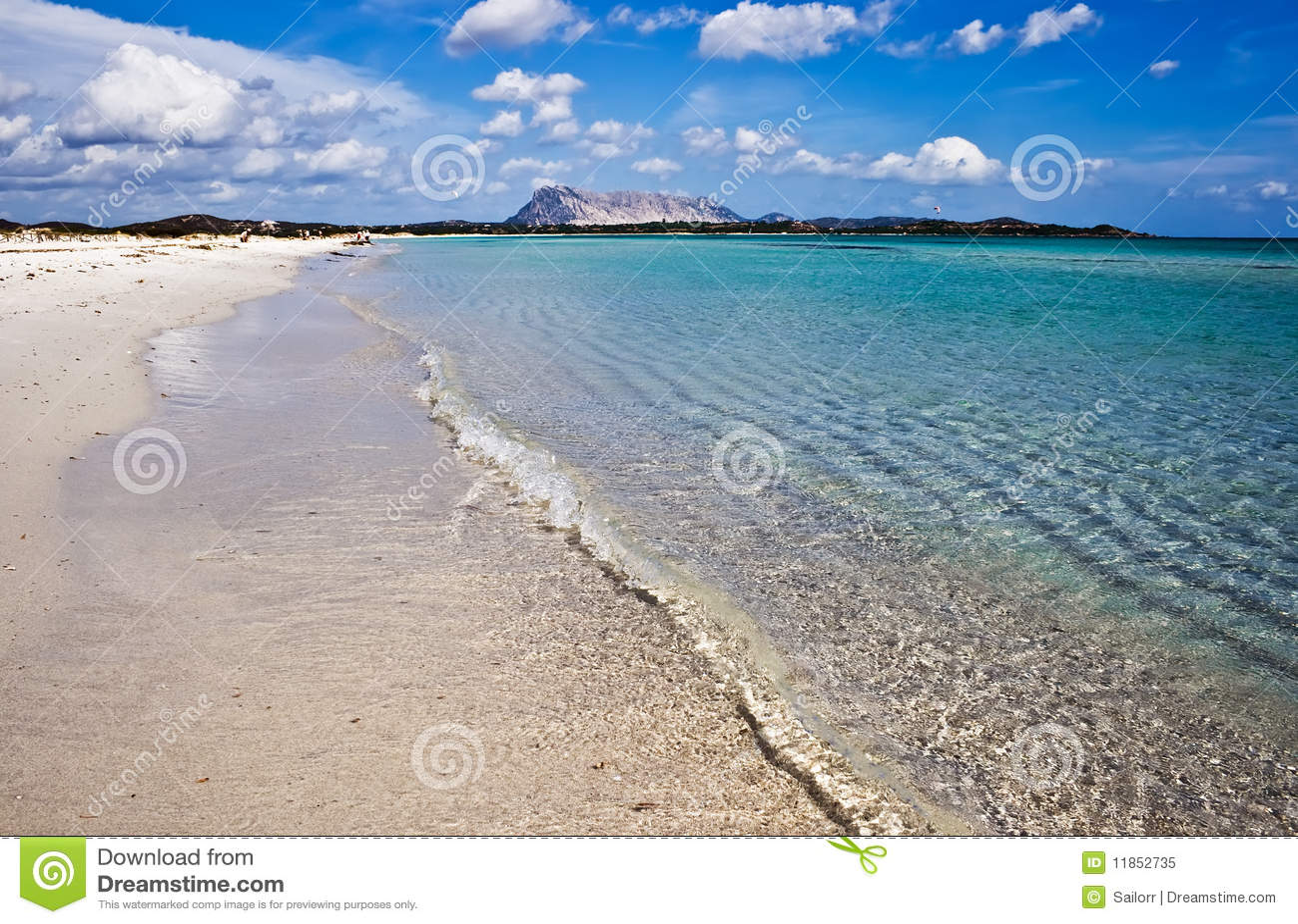 Sandig strand