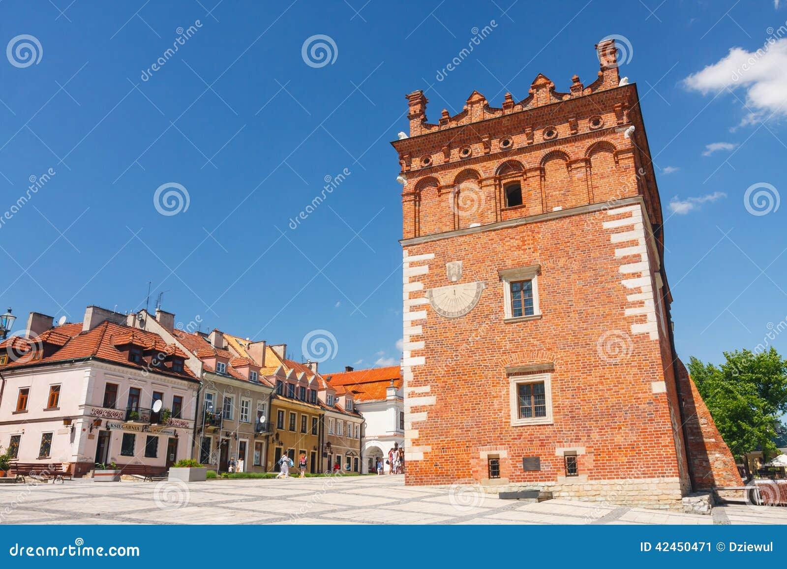 Sandomierz, alte Stadt