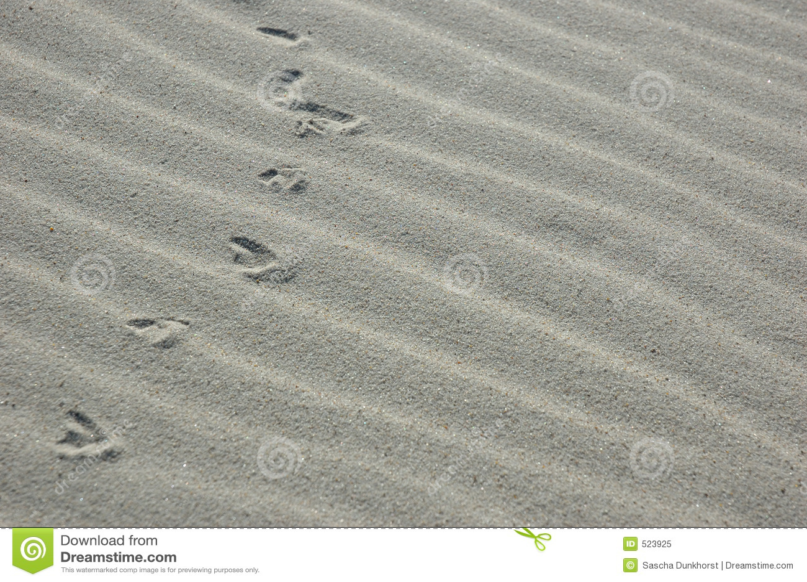 Sandspår