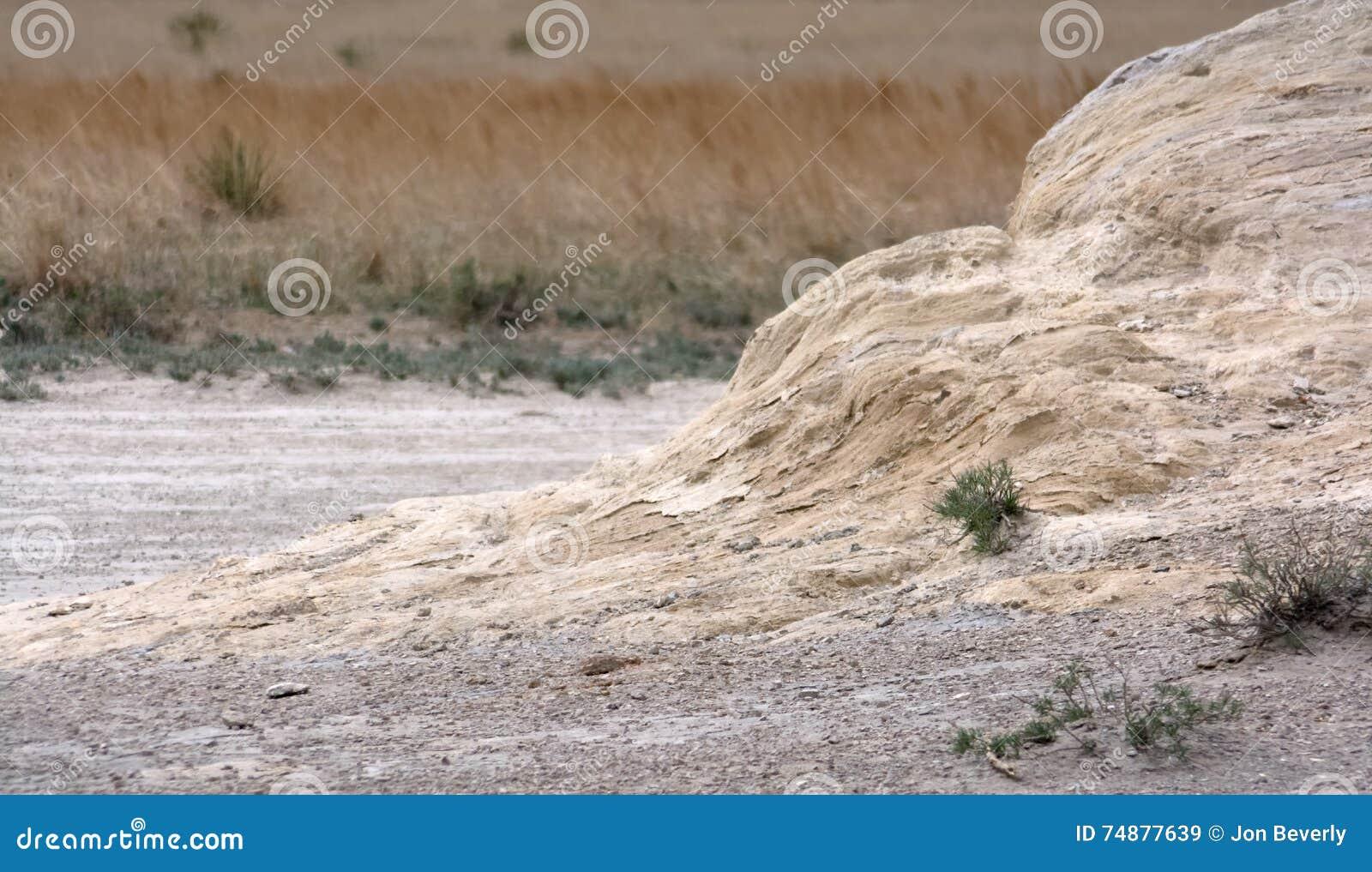 Sandstein-Rampe