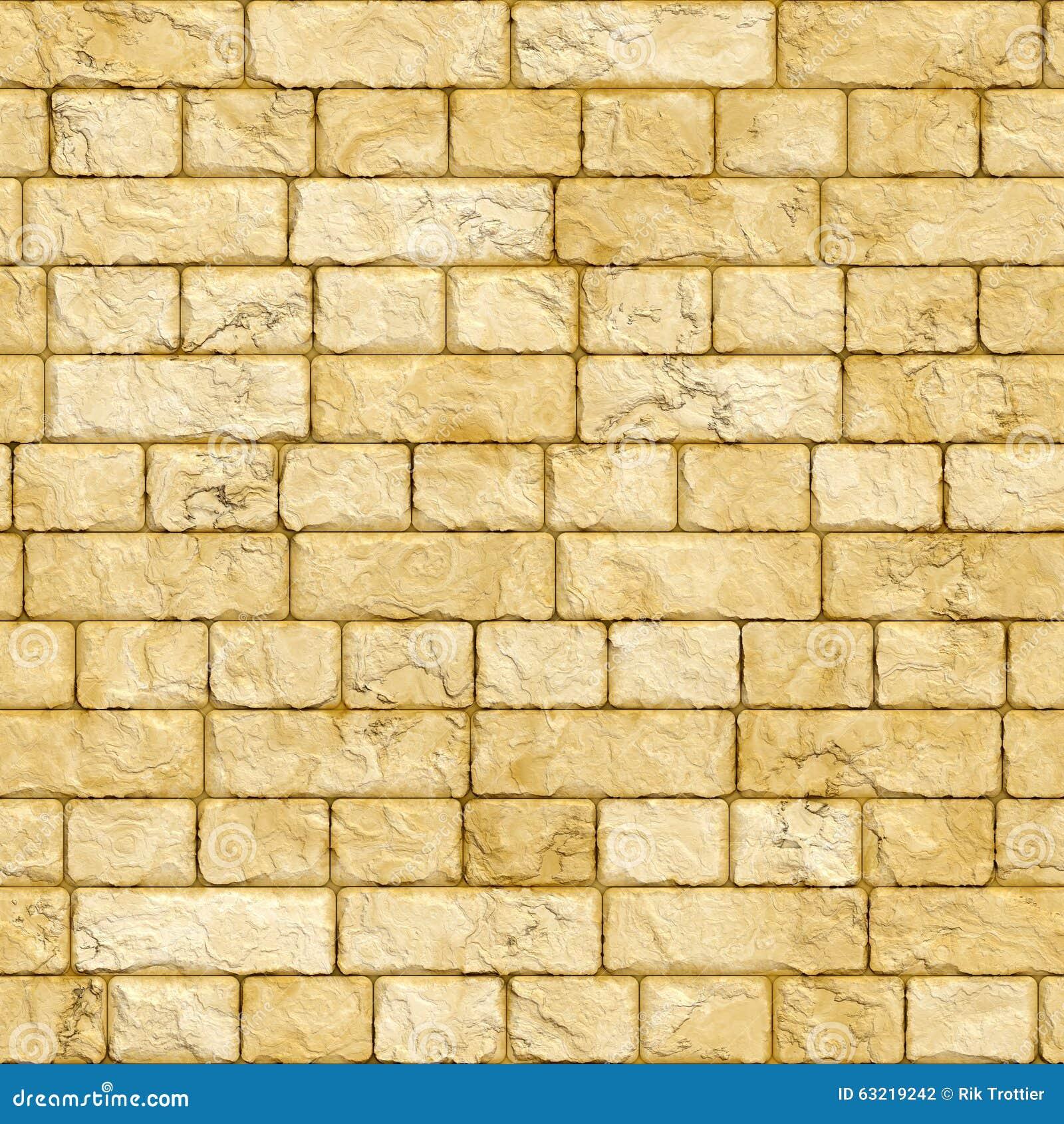 Sandstone brick wall stock illustration. Illustration of grains ...