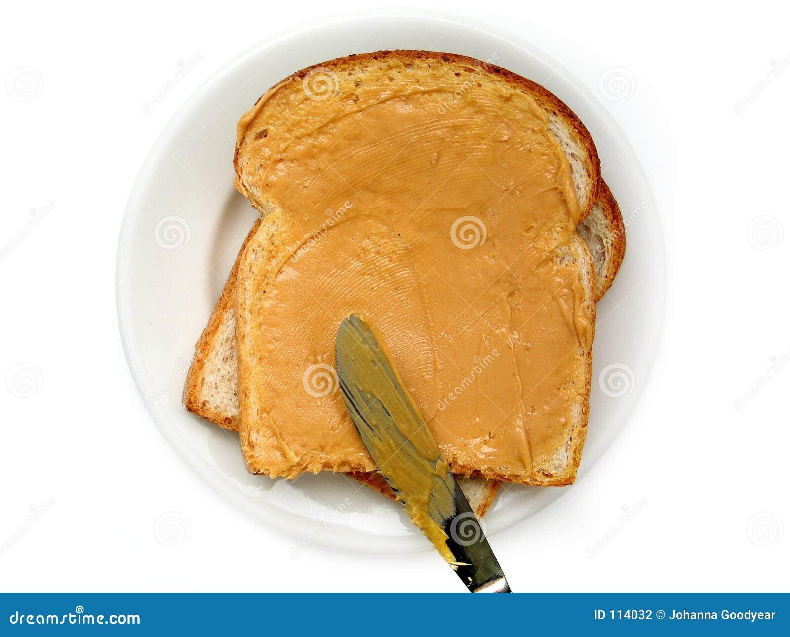 Sanduíche da manteiga de amendoim