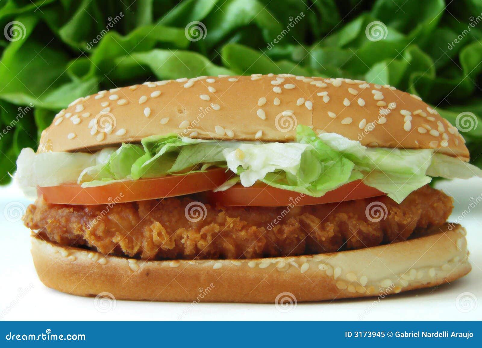 Sanduíche de galinha