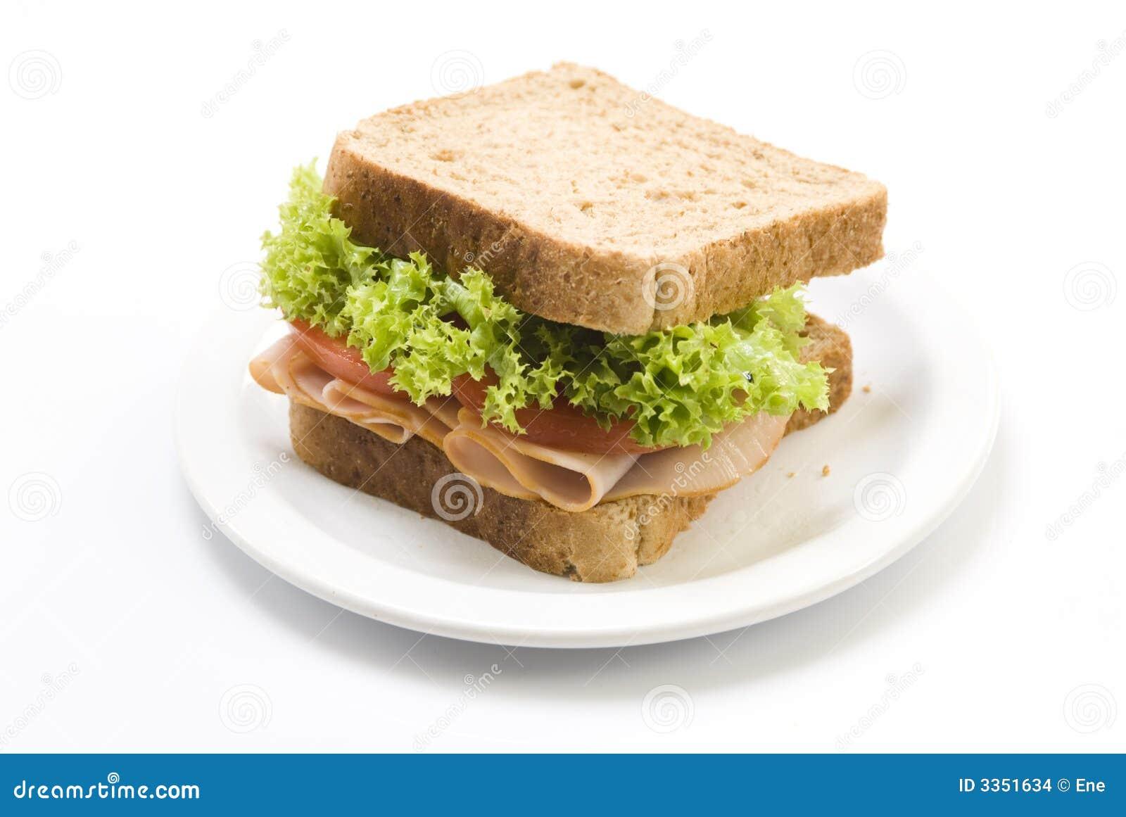 Sanduíche de presunto