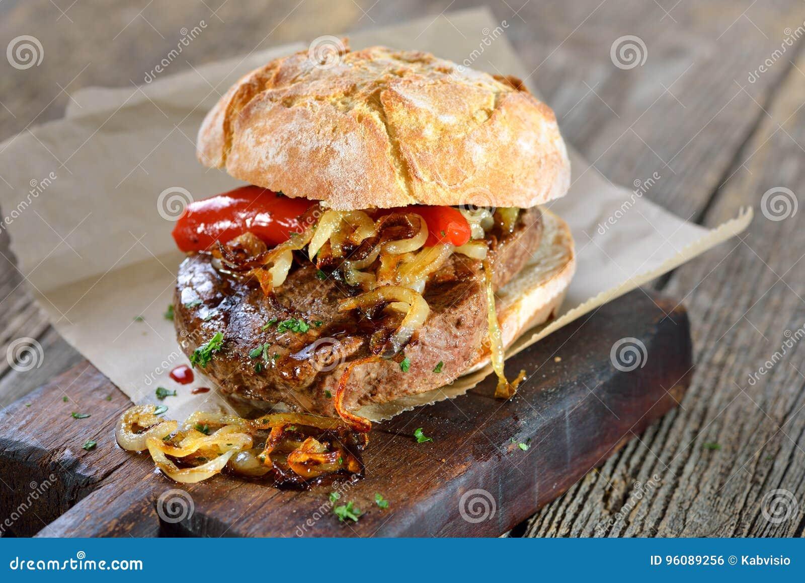 Sanduíche do bife